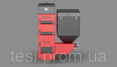 103826316 w640 h640 sd duo bio 1 Котел твердотопливный Metal Fach SD DUO BIO 19 (19 кВт 170 220 м2) с пеллетной горелкой