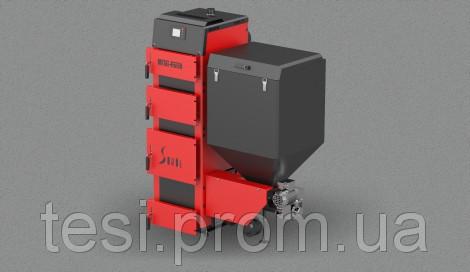 103826318 w640 h640 sd duo bio 2 Котел твердотопливный Metal Fach SD DUO BIO 19 (19 кВт 170 220 м2) с пеллетной горелкой