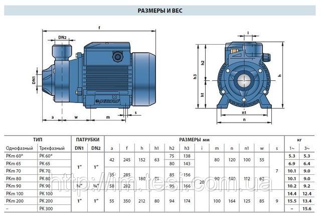 инструкция Pedrollo насос Pkm 60 - фото 9
