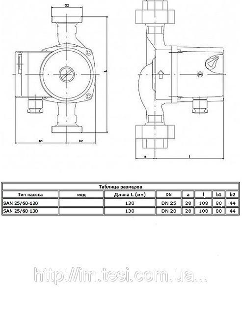 38336000 w640 h640 cid314446 pid6159937 e682710b Циркуляционный насос для горячего водоснабжения IMP Pumps, IMP SAN 25/60 130, 0,09 кВт