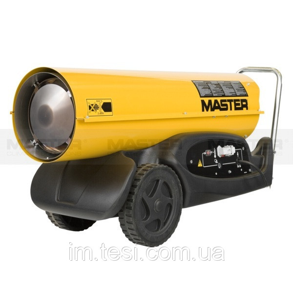 38441974 w640 h640 mobiledirectheaterb180 Тепловая пушка MASTER прямого нагрева B 180  (48 кВт,  1550 м.куб/час) дизель