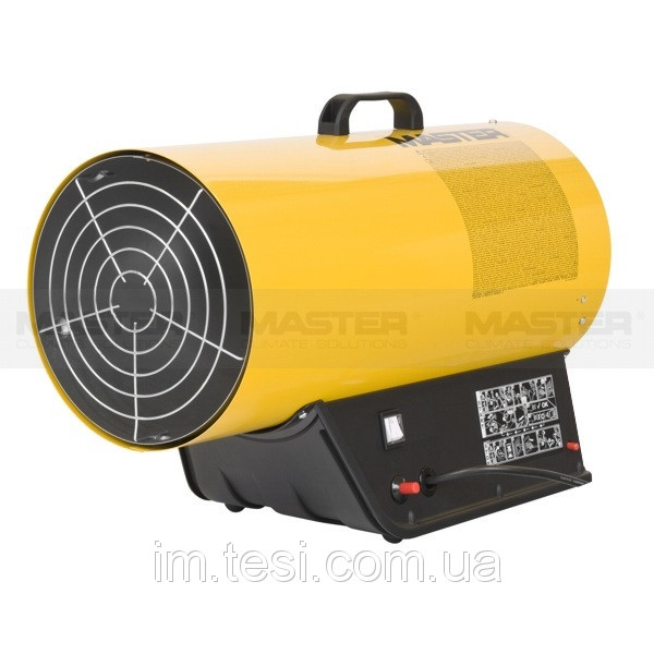 38453511 w640 h640 mobilegasheatersblp53m Тепловая пушка MASTER прямого нагрева BLP 73M  (49/69 кВт,  2300 м.куб/час)газ сжиженый