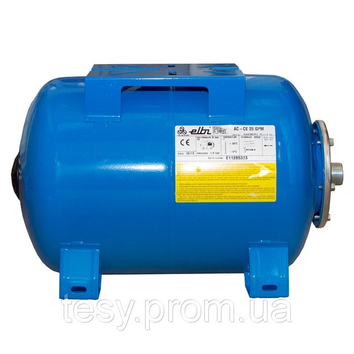 92945669 w640 h640 elbi ac 25 gpm Гидроаккумуляторы для систем водоснабжения Elbi AC   GPM 25, 24 л. горизонтальный